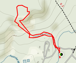 Robber's Cave Trail Map