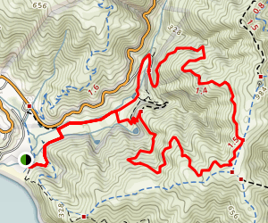 Green Gulch Trail Map