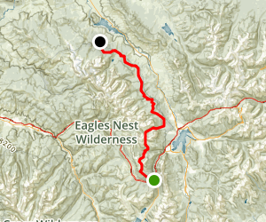 Gore Range Trail Map
