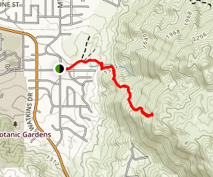 "The Big ""C"" Trail (CLOSED) Map"