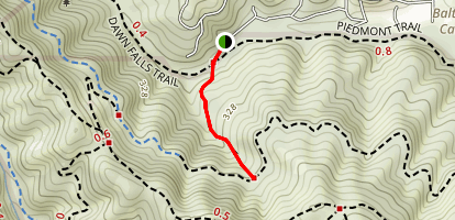 Barbara Springs Trail Map