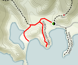 Europa Bay Trail Map