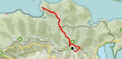 Johnny Horn Trail Map