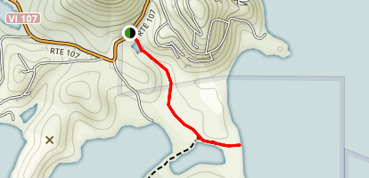 Drunk Bay Trail Map