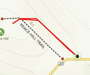 Peace Hill Trail Map