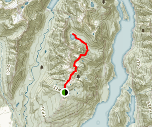 Elsay Lake Trail Map