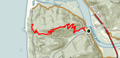 Flint Ridge Section Trail Map