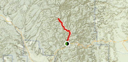 Black Range Crest Trail Map
