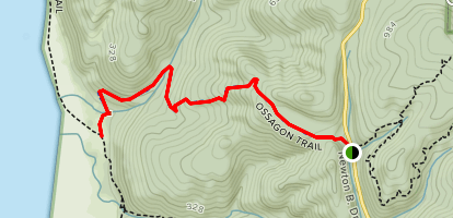 Ossagon Trail  Map