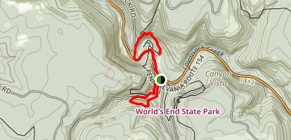 World's End Trails Map