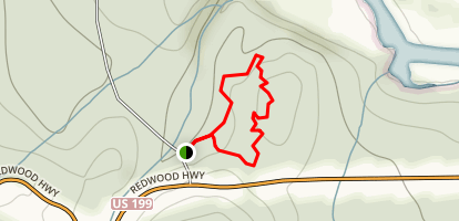 Simpson-Reed Trail Map