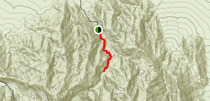 Grotto Canyon Map