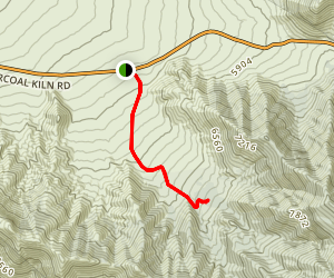 Pinon Mesa via Hummingbird Spring Trail Map