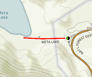Meta Lake Trail Map