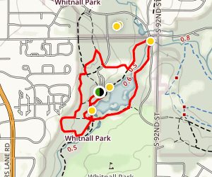 Wehr Nature Center Trail Map
