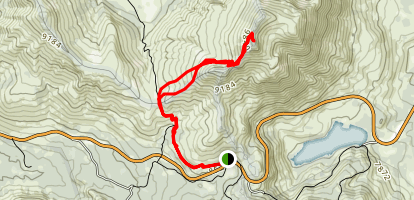 Red Lake Peak Trail Map