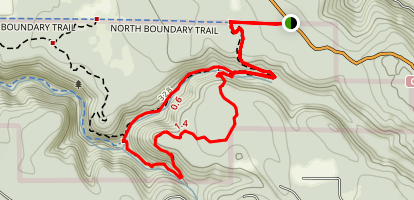 Waterfall Loop Trail Map