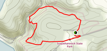 Hawk Point Trail Map
