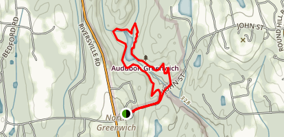 Greenwich Audubon Center Trail Map