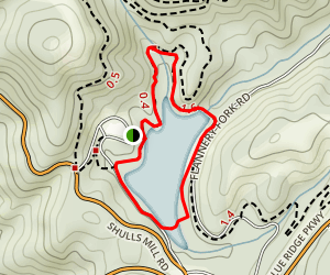 Trout Lake Loop Trail Map