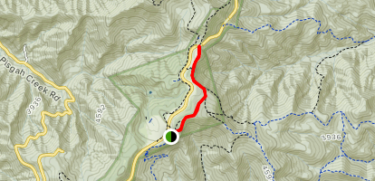 Buck Spring Trail Map