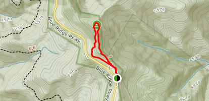 Richland Balsam Nature Loop Trail Map