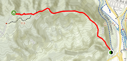 Smelter Mountain Trail  Map