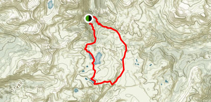 Highland Mary Trail Loop Map