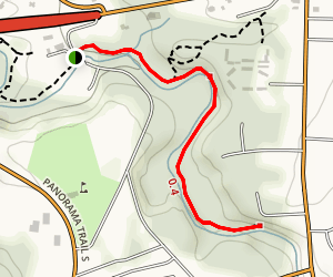 The Falls Trail Map