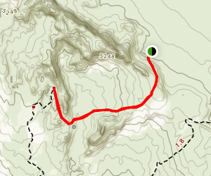 Tower Arch Trail Map