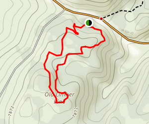 Limber Pine Trail Map