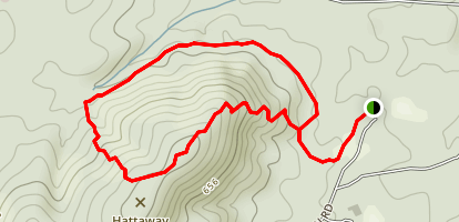 Hattaway Mountain Trail Map