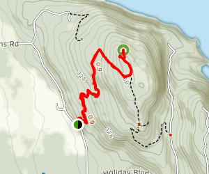 Guemes Mountain Map