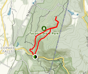 Sunset Rock Trail Map