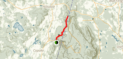 South Taconic Trail-North Map