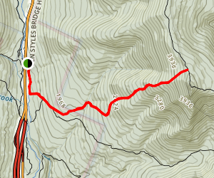 Liberty Springs Trail Map