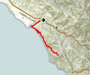 Bluffs Trail Map