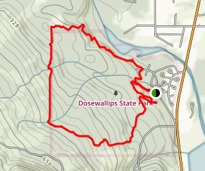 Dosewallips State Park Trail Map