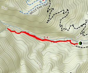 North Fork Park Trail Map
