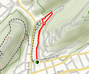 The Grand Promenade and Side Trails Map