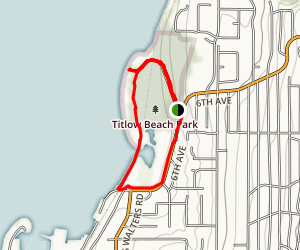 Titlow Park Map