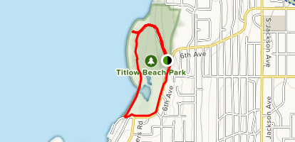Titlow Park [CLOSED] Map