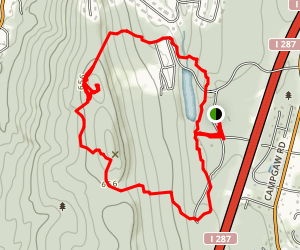 Campgaw Mountain Campground Trail Map