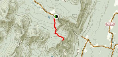 Codfish Point Trail Map