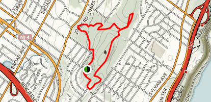 Flatrock Brook Loop Trail Map