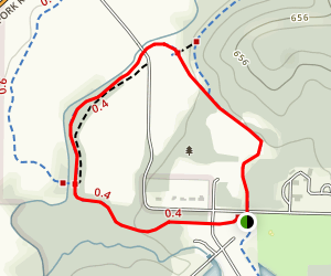 Miami Whitewater-Shaker Trace Trail Map