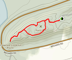 Miami Fort Trail (Shawnee Lookout) Map