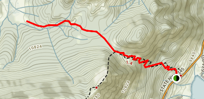 Wilson Meadows Trail Map