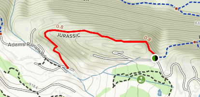 Jurassic Trail Map
