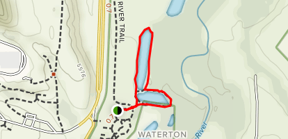 Audubon Nature Trail Map